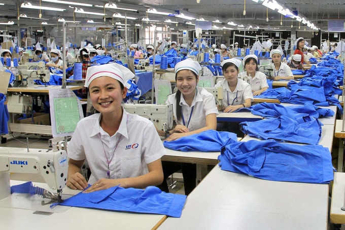 The lucky workers, high profits, new research on Vietnam
